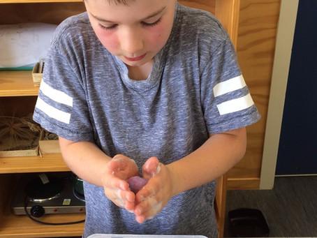 Making Felt Balls - Fibre Alchemy!