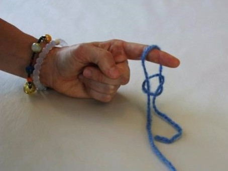 Finger Knitting - getting started with the simplest work of the hand.