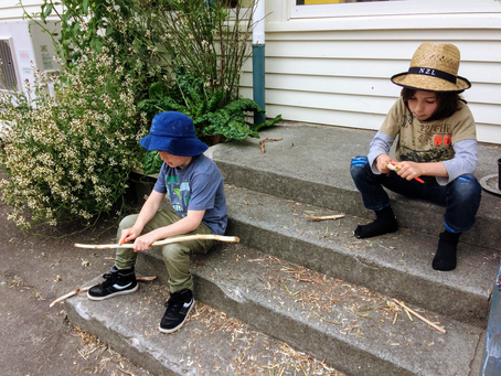 Whittling Knife Safety Rules