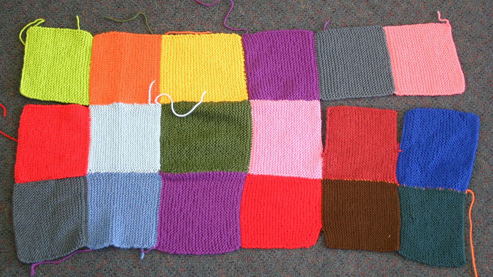 Peggy Square blanket