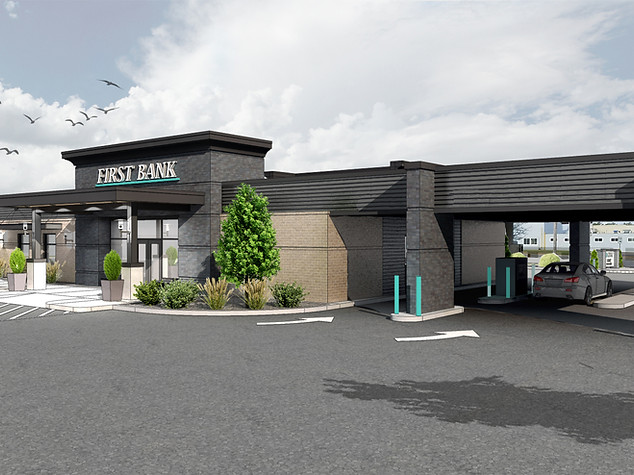 FIRST BANK EXTERIOR REMODEL
