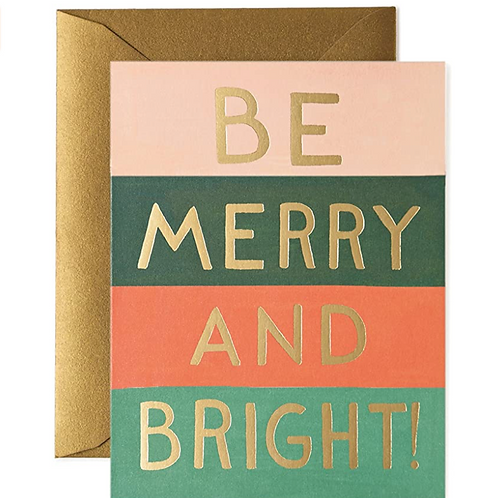 Be Merry and Bright Card