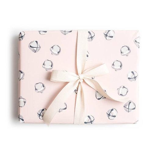 Jingle Bell Blush Gift Wrap