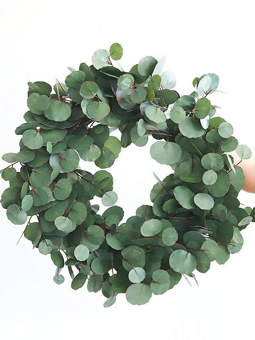 "22"" Eucalyptus Leaf Wreath"