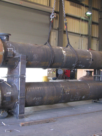Stacked Heat Exchangers Fabrication