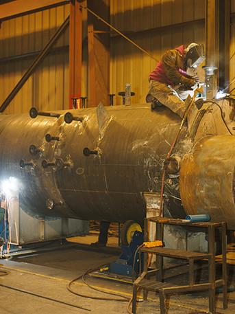Waste Heat Boiler Fabrication