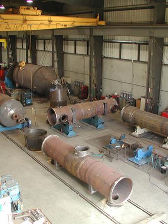 Fabrication Floor - Various ASME Equipment