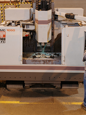 Verticle Machining Center - Milling Process