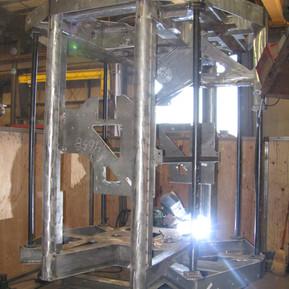 Duplex Stainless Steel Frame for Oil Exploration