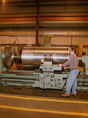 Rotating Equipment Machining in Engine Lathe