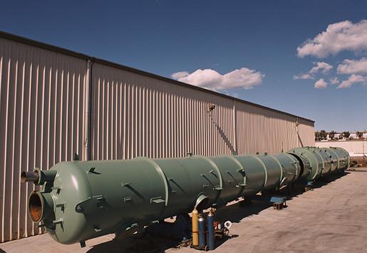 180 Foot Long Distillation Column
