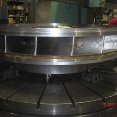 Machining Hydroelectric Turbine Runner