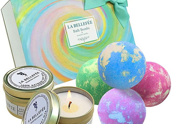 Bath bombs/candle Sets