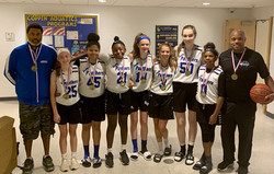 Girls 7th- GERMANTOWN LADY PANTHERS 2