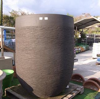 Vase Anduze noire