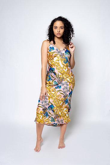 Golden Hour Midi Slip Dress