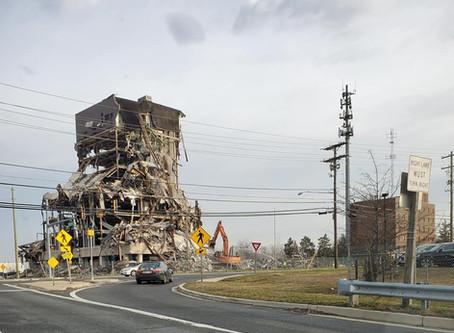 Demolition! Auth Road!