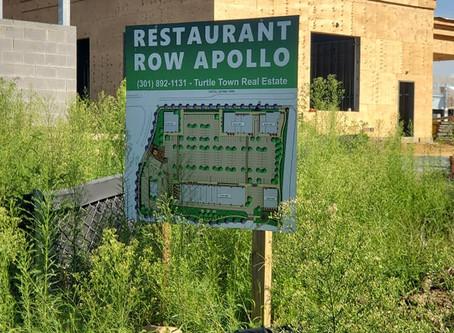 Restaurant Row Apollo (Branch Avenue Metro) !!