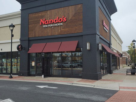 Nando's is now open at Woodmore Towne Centre!!