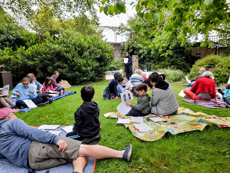 Creativity flourishes at the Turrill Sculpture Garden