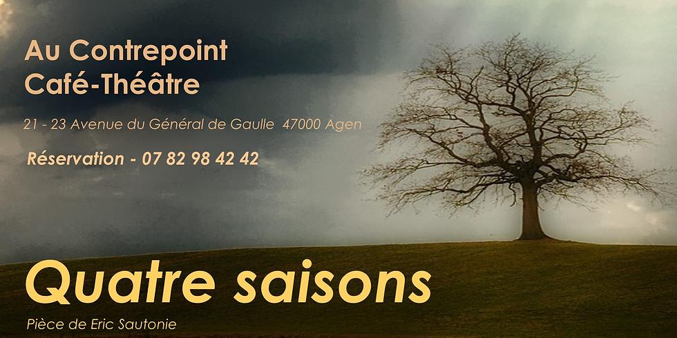 Lecture publique de la pièce Quatre saisons