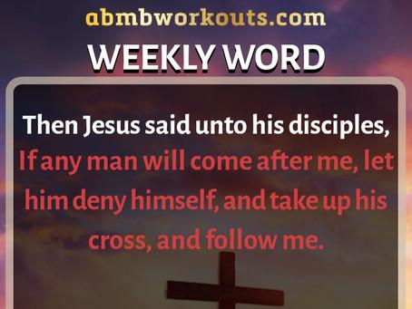 'Weekly Word' February 2nd- February 8th