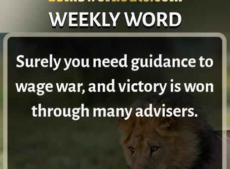 'Weekly Word' December 15th- December 21st