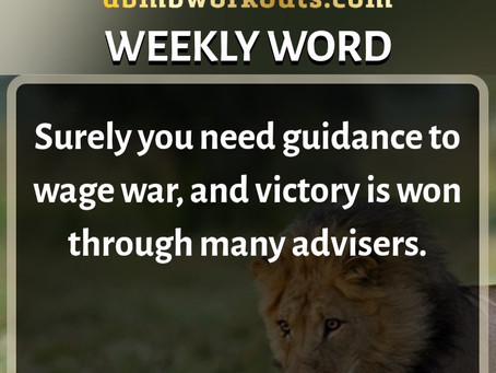 'Weekly Word' December 15th- December 21st
