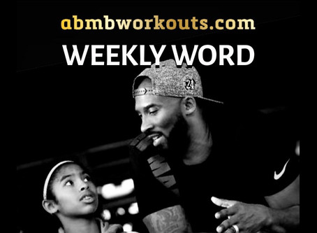 'Weekly Word' January 26th- February 1st