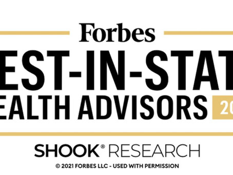 Brendan Sheehan, MSFP, CFP® Recognized in Forbes as a 2021 Best-in-State Wealth Advisor