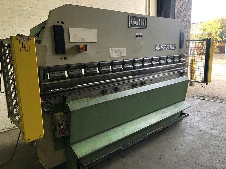 GUIFIL PE30/60 Hydraulic Pressbrake