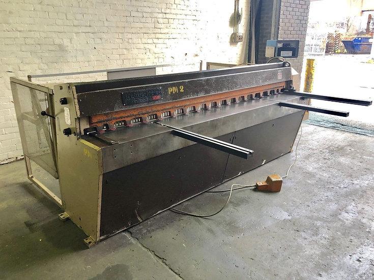Edwards Truecut DD Mechanical Guillotine  2.5m x 3.5mm