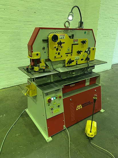 Morgan Rushworth HSW45 Hydraulic Universal Ironworker