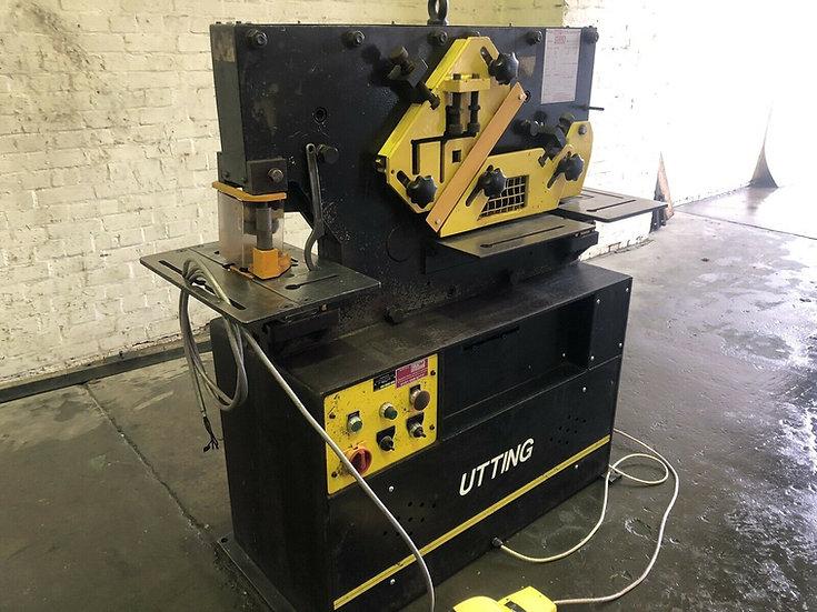 Utting SW50 Universal Hydraulic Iron Worker