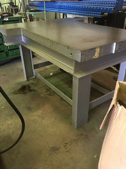 Cast Iron Engineering Table