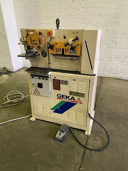 Geka Microcrop 36ton Universal Ironworker