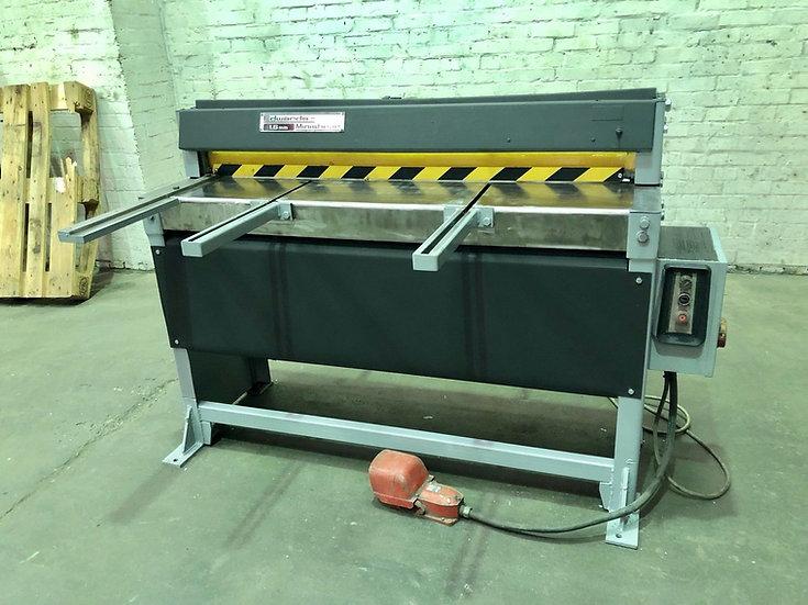 Edwards Minishear Mechanical Guillotine  Model: 1.6/1270 M.S