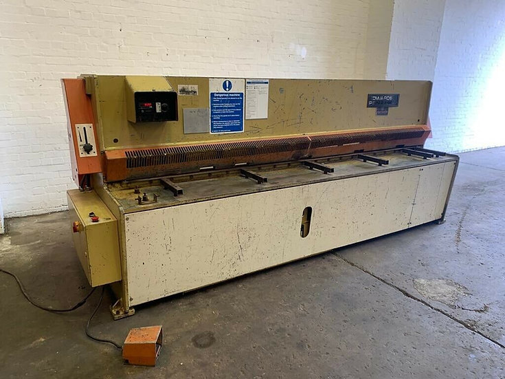 Edwards Pearson GE Shear Hydraulic Sheet Metal Guillotine