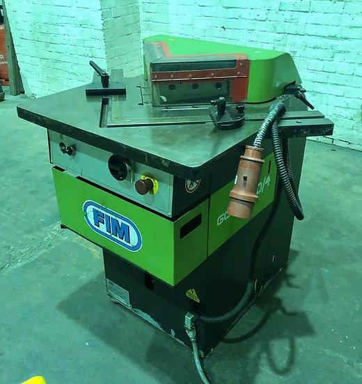 FIM (Italy) GAOL 200/4 Hydraulic Corner Notcher