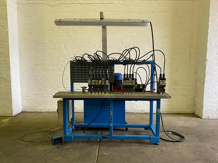 Parsell Linear Hydraulic Punch Machine  With 14 Stations