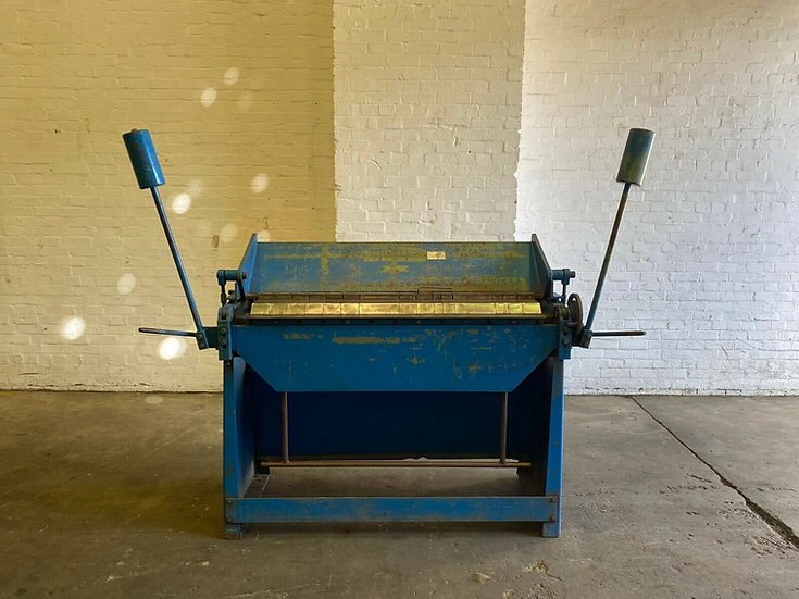 Morgan Rushworth Sheet Metal Folder Box And Pan