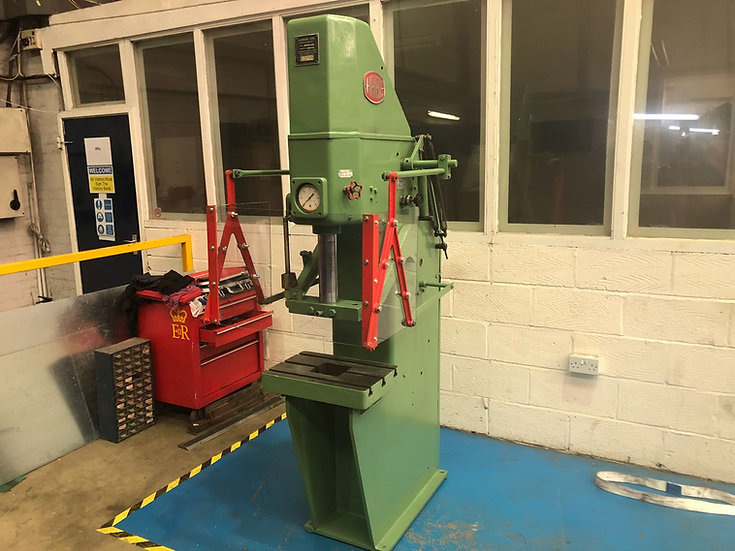 Hare 20TON Hydraulic Press  Tee Slotted Table