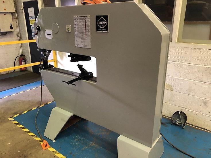 TRUMPF model TAS 500 Nibbling Machine