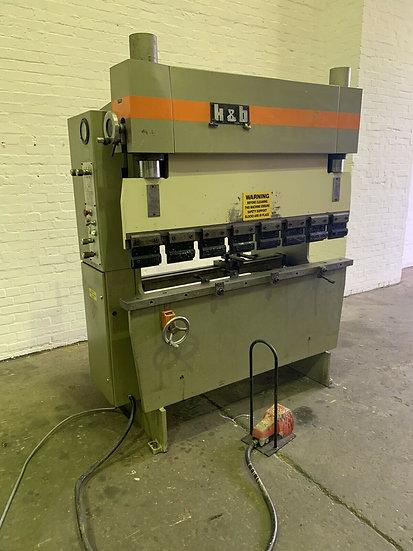 K & B (Holland) 1.6m Hydraulic Pressbrake
