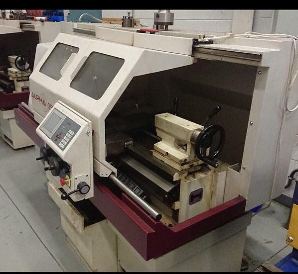Harrison Alpha 350T CNC Teach Lathe