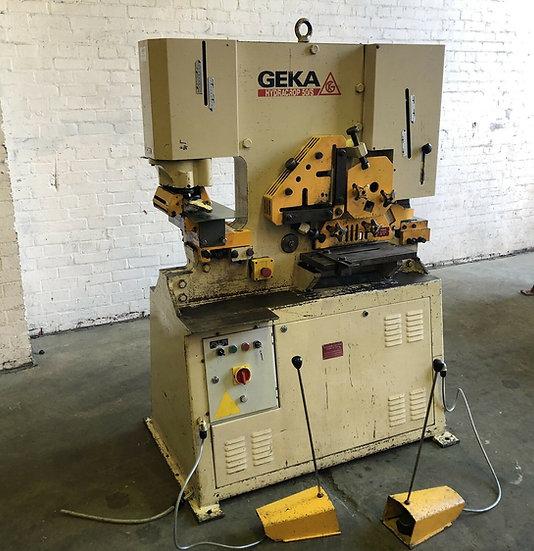 Geka Hydracrop 50S Hydraulic Universal Iron Worker