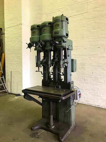 Herbert Bank Of 3 Pillar Drills
