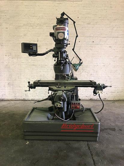 Bridgeport Variable Speed Vertical Turret Milling Machine