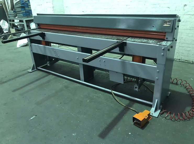 FJ Edwards Air Operated Guillotine 2.5m x 1.5mm