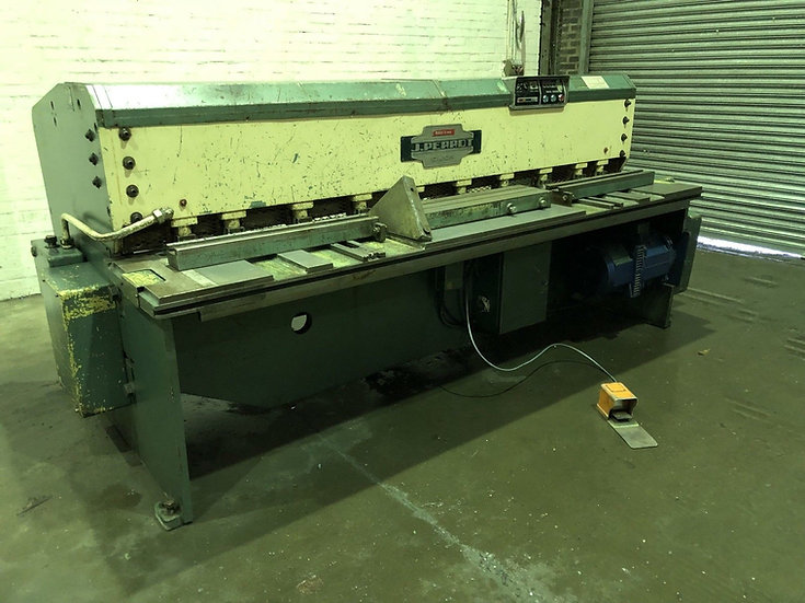 Jean Perrot (France) Mechanical Guillotine 2550mm x 5mm